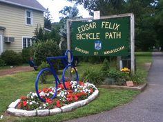 Edgar Felix Trail in Wall Township, NJ