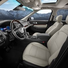 2017 Ford Explorer fortable interior Subaru