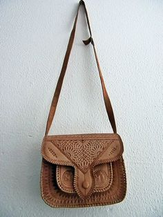 Leather hip bag vintage by armarioenruinas on Etsy, $39.00