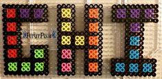 Tetris Letters - G, H, I by PerlerPixie.deviantart.com on @DeviantArt