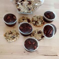 zdravé mlsanie 😋 čoko celozrnné muffiny 🍫🍮 banánové cookies 🍌🍩