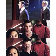 Right in the feels. Klaine <3