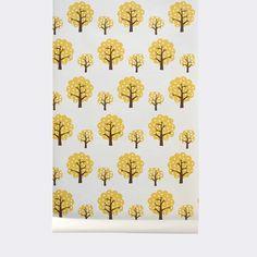 Grafisk børnetapet/ Walpaper - se flere designs - Ferm Living