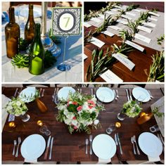 Green Weddings: Recyclable Wedding Decor