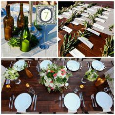 Green Weddings: Recyclable Wedding Decor