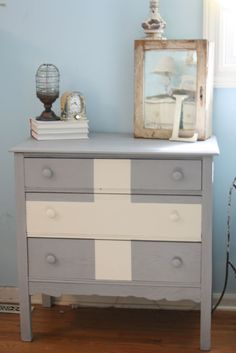 Swiss dresser--@Joyce Olson-- looks like your new dresser and wall color. Love the accessories on top!