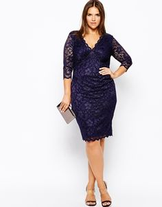 Plus Lace Pencil Dress #plus #size #dress