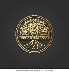 Find Golden Tree Logo Elegant Classic Vector stock images in HD and millions of other royalty-free stock photos, illustrations and vectors in the Shutterstock collection. Logo Design Tutorial, Logo Arbol, Letter H Design, Tree Of Life Logo, Clean Web Design, Golden Tree, Tree Logos, Flower Logo, Music Logo