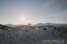 Winter Wedding in Wanaka by Alpine Image Company www.alpineimages.co..nz