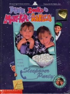 You're Invited to Mary-Kate & Ashley's Sleepover Party (Adventures of Mary Kate and Ashley Series) by Scholastic Books Inc., Olsen Ashley, O...