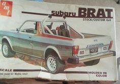 Subaru Brat model kit by AMT