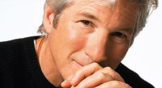 Richard Gere to work in Indian film? Kim Basinger, Men With Grey Hair, Going Gray, Silver Hair, Famous Faces, Men Looks, Gorgeous Men, Movie Stars, Sexy Men