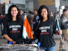 Today Nungshi & Tashi returned after conquering Mt Aconcagua! #100HappyDays #Day27 #Mission2for7 100 Happy Days, T Shirt, Tops, Women, Fashion, Supreme T Shirt, Moda, Tee Shirt, Fashion Styles