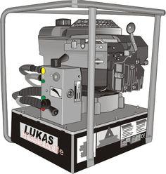 motobomba hidraulica Lukas