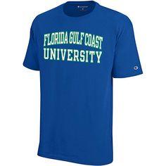 Product: Florida Gulf Coast University T-Shirt Florida Gulf Coast University, Everyday Look, Classic Style, City, Fabric, Mens Tops, T Shirt, Tejido, Supreme T Shirt