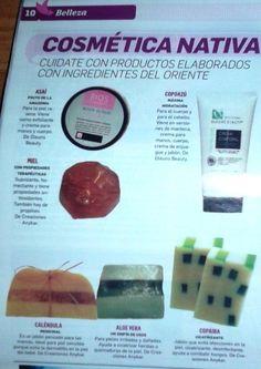 Publicación en el Períodico Diario Mayor El Deber - revista Paraellas!! jabones con aceites naturales de Creaciones Anykar!