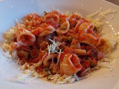 Calamari in Tomatensauce