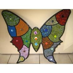 Mozaïek Vlinder groot