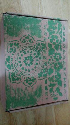 Caja redecorada