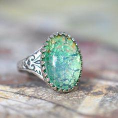 Wow, pretty ring #opalsaustralia