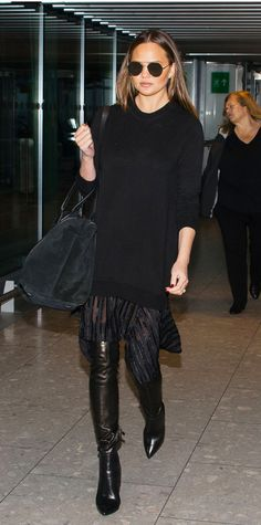 Celebrity Airport Style: Celebrity-Inspired Outfits to Wear on a Plane | InStyle.com