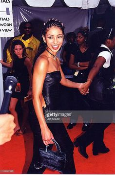 Mya at the 1998 Lady of Soul awards in Los Angeles. Beautiful Black Girl, Beautiful Smile, Black Girl Aesthetic, Aesthetic Fashion, Mya Harrison, Throwback Pictures, Black Royalty, 90s Girl, Twist Braid Hairstyles