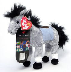 Derby 133 (Kentucky Derby Store - Horse - Ty Beanie Babies