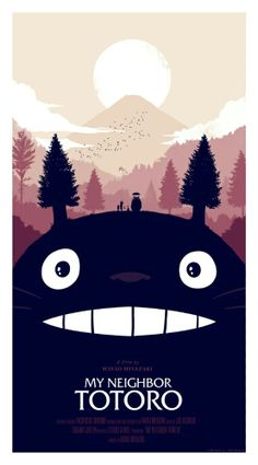 Fan art for #totoro...