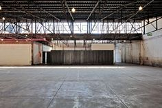 The renovation of a large industrial shed tucked away in Pretoria's CBD was carried out with a very light touch, providing amenities for its use as an events space while maintaining the integrity of the industrial fabric. Industrial Fabric, Industrial Sheds, Warehouse Design, Banks Building, Light Touch, Pretoria, Architecture, Outdoor Decor, Projects