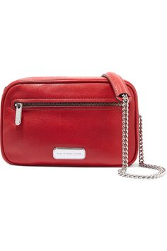 MARC BY MARC JACOBS Sally textured-leather shoulder bag. #marcbymarcjacobs #bags #shoulder bags #leather #