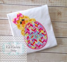 Spring Chick shirt by KoutureKid on Etsy