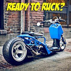How would you customize your Honda Ruckus?