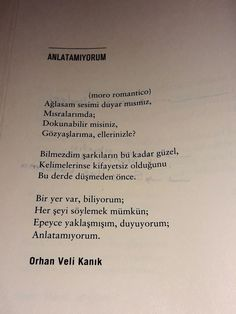 Orhan Veli Kanık Poem Quotes, Motivational Quotes, Life Quotes, Favorite Quotes, Best Quotes, Special Words, English Quotes, Cool Words, Quotations