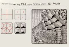 IMG_2564.JPG Tanlge Pattern: 3D-Room tangle pattern Damy Tang