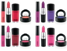 Maquiagem MAC Fashion Sets Collection.