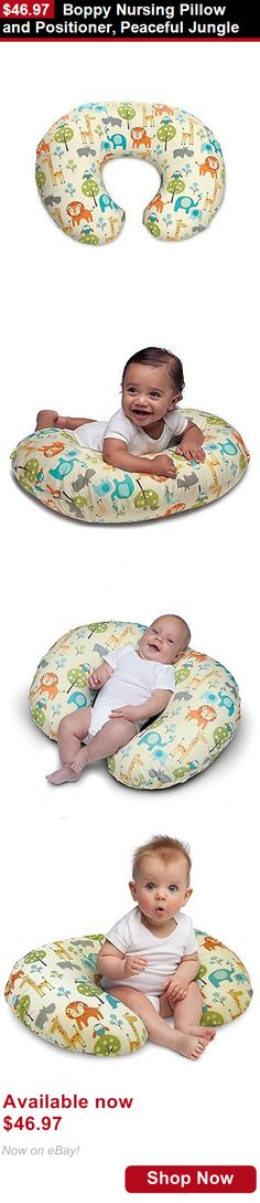 Feeding Boppy Pillows: Boppy Nursing Pillow And Positioner, Peaceful Jungle BUY IT NOW ONLY: $46.97