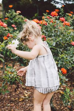 May you, my baby, eat from the garden. Be kind to it's creatures....