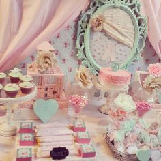 Shabby Chic Birthday Party Ideas | Photo 1 of 19 | Catch My Party