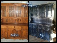 Country Chic ~ Shabby Vintage Boutique: Rachel's Hutch Make-over