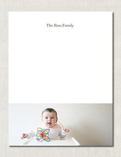 Photo Note Pad via The Penny Paper Co.  the perfect gift for grandma!