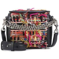 c685d3c9903 Alexander McQueen Tweed Shoulder Bag ( 2