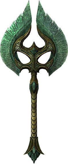 skyrim axe   Glass War Axe (Skyrim) - The Elder Scrolls Wiki