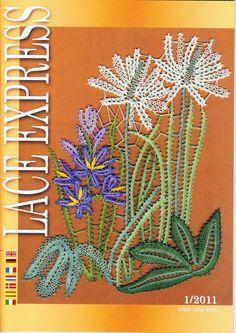 "Кружева на коклюшках: Журнал ""Lace Express"" № 1/2011"