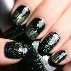 Matrix Nail Art