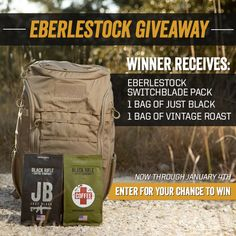2 bags of Black Rifle and a sweet pack Black Rifle Coffee Company, Bushcraft Kit, Custom Wraps, Christmas Giveaways, Coffee Club, Great Coffee, Entertaining, This Or That Questions, Photographers