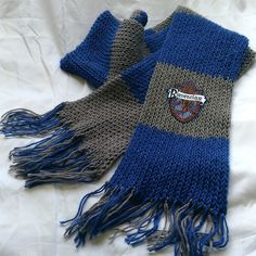 Cachecol Harry Potter Corvinal / Ravenclaw Scarf