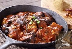 Pirított padlizsán curry
