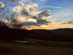 Whatever darkness you stumble upon there is always some light. --- #sun #dusk #yellow #dark #light #sunlight #blue #nature #clouds #slovensko #slovakia #europe #hills #horizon #kysuce #stumble #stumbleupon