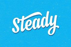 Steady (25% off) by artimasa on @creativemarket