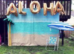 Photo Booth, Hazels Big Luau, The Cheerio Diaries, First Birthday, Luau, Hawaiian Theme, Aloha, Confetti and Sparkle Party SHop, The Cheerio Diaries